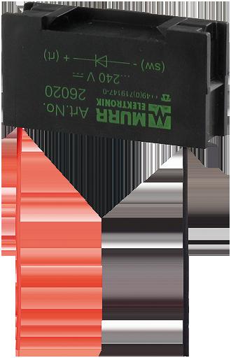 Tłumik przepięć uniwersalny, warystor, 230VAC/DC/200VA/W