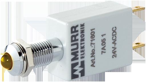 Wskaźnik LED żółty 110V AC/DC - 7 mA - K5 - IP40