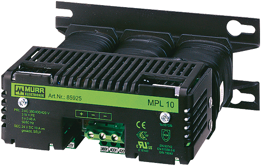 Zasilacz transformatorowy MPL 3-fazowy